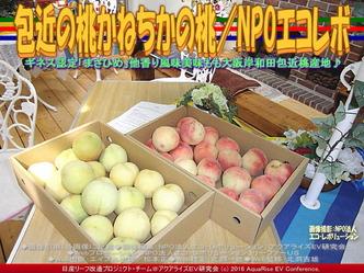 包近の桃/NPO法人エコ・レボリューション03