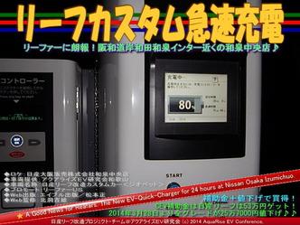 リーフカスタム急速充電@日産リーフ改造09