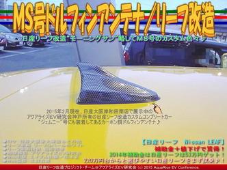 MS号ドルフィンアンテナ/リーフ改造05