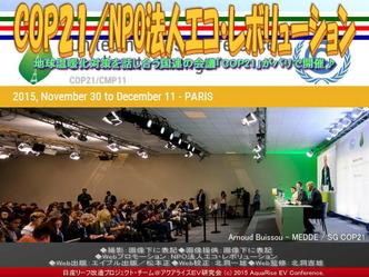 COP21(2)/NPO法人エコ・レボリューション01