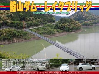 椿山ダム・レイクブリッジ@日産リーフ改造08