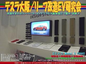 テスラ大阪(2)/リーフ改造EV研究会01
