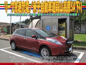 リーフ急速充電/米子自動車道蒜山高原SA下り04