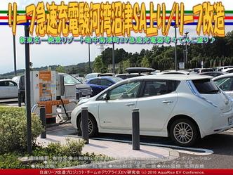 リーフ急速充電駿河湾沼津SA上り/リーフ改造02