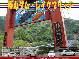 椿山ダム・レイクブリッジ@日産リーフ改造09