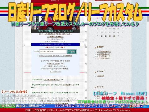 日産リーフブログ/リーフカスタム04