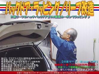 バックドア・ラッピング(4)/リーフ改造04
