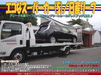 エコなスーパーカー(5)/日産リーフ06