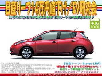 日産リーフ14万円値下げ(2)/EV研究会05