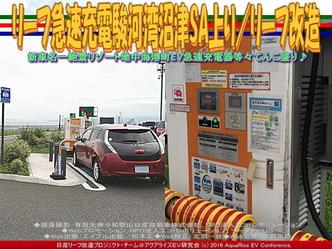 リーフ急速充電駿河湾沼津SA上り/リーフ改造03