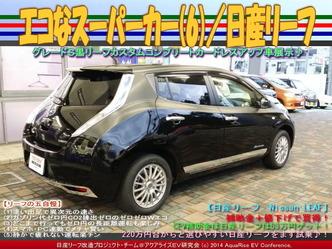 エコなスーパーカー(6)/日産リーフ03