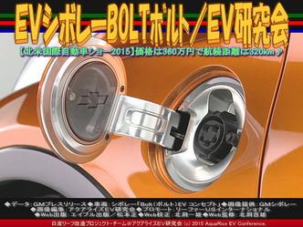 EVシボレーBOLTボルト(2)/EV研究会03