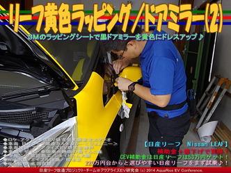 リーフ黄色ラッピング/ドアミラー(2)05