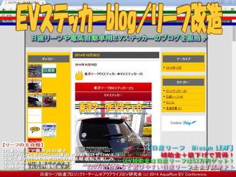 EVステッカーblog/リーフ改造03