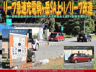 リーフ急速充電駒ヶ岳SA上り/リーフ改造03