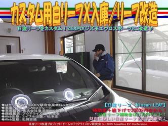カスタム用白リーフX入庫/リーフ改造04
