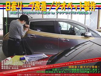 日産リーフ改造/ジオペット製作@アクアライズEV研究会 10