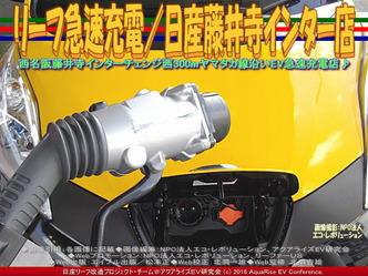 リーフ急速充電/日産藤井寺インター店03