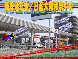 新急速充電/日産大阪和泉中央@リーフカスタム11