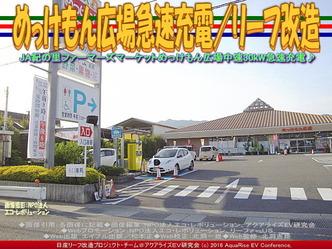 日産リーフ急速充電/めっけもん広場01