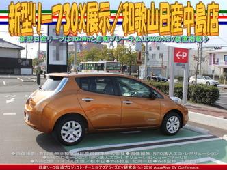 新型リーフ30X展示(5)/和歌山日産中島店01