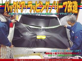 バックドア・ラッピング(2)/リーフ改造03