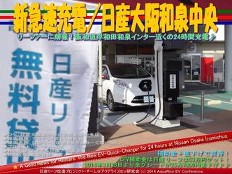 新急速充電/日産大阪和泉中央@リーフカスタム10