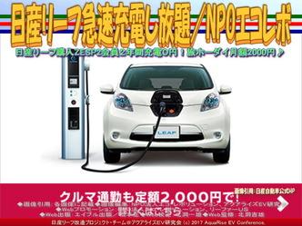 日産リーフ急速充電し放題(5)/エコレボ画像02