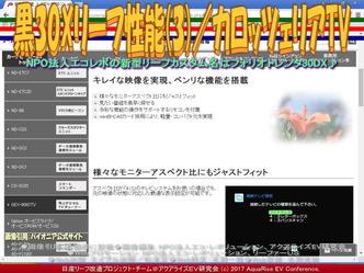 黒30Xリーフ性能(3)/カロッツェリアTV画像03