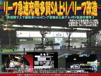 リーフ急速充電多賀SA上り/リーフ改造04