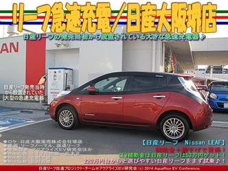 リーフ急速充電/日産大阪堺店01
