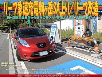 リーフ急速充電駒ヶ岳SA上り/リーフ改造02
