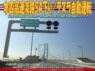 本四高速淡路SA下り/テスラ自動運転03