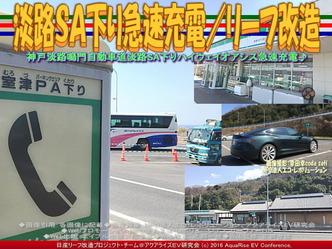 淡路SA下り急速充電/リーフ改造01