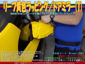 リーフ黄色ラッピング/ドアミラー(1)04