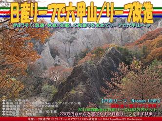 日産リーフで六甲山/リーフ改造03