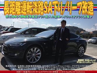 長距離運転淡路SA下り/リーフ改造04