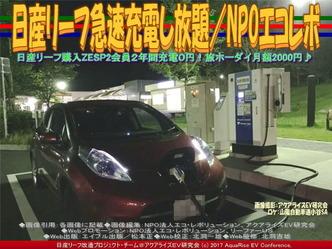 日産リーフ急速充電し放題(4)/エコレボ画像01
