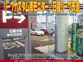 リーフカスタム車モニター/日産リーフ改造01