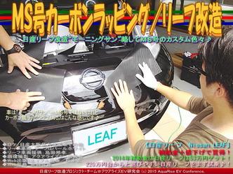 MS号カーボンラッピング/リーフ改造05