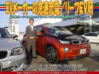 EVメーカーの急速充電/リーフEV研03