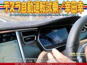 テスラ自動運転試乗(3)/幸田幸04