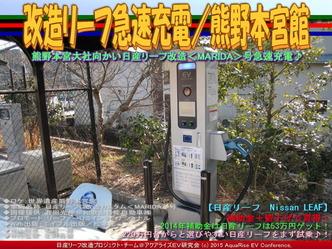 改造リーフ急速充電/熊野本宮館02