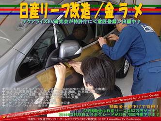 日産リーフ改造/金ラメ@アクアライズEV研究会05