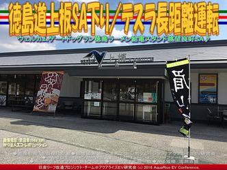 徳島道上板SA下り/テスラ長距離運転03