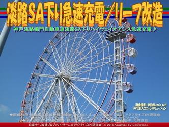 淡路SA下り急速充電(2)/リーフ改造04
