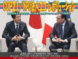 COP21(3)/NPO法人エコ・レボリューション03