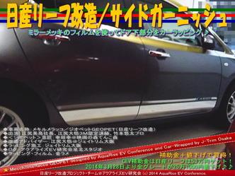 日産リーフ改造/サイドガーニッシュ@アクアライズEV研究会09