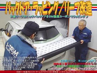 バックドア・ラッピング/リーフ改造04