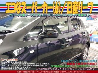 エコなスーパーカー(6)/日産リーフ05